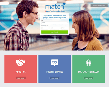 elite singles dating site vs match