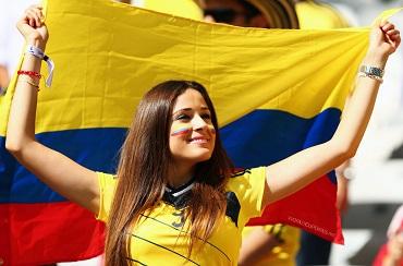beautiful colombian women